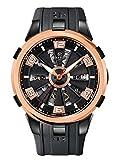 Perrelet A3038/1 - Reloj de pulsera para hombre (pantalla analógica, pantalla suiza, automático), color negro