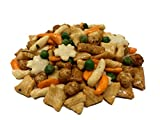 NUTS U.S. - Oriental Rice Crackers With Green Peas in Resealable Bag!!! (4 LBS)