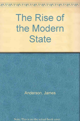 Download The Rise of the Modern State 0745000606