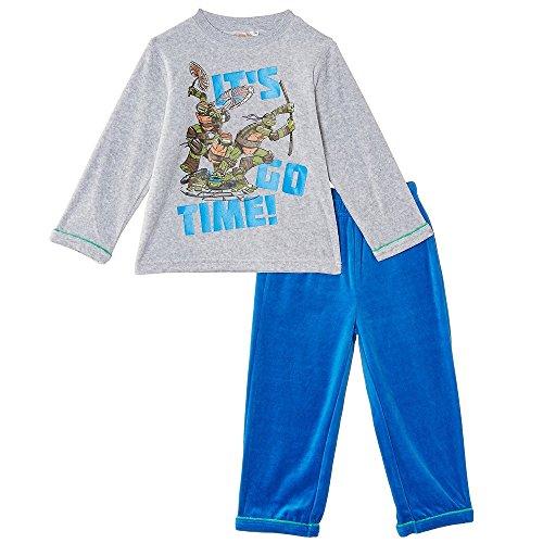 Pijama largo de las Tortugas Ninja multicolor 8 años