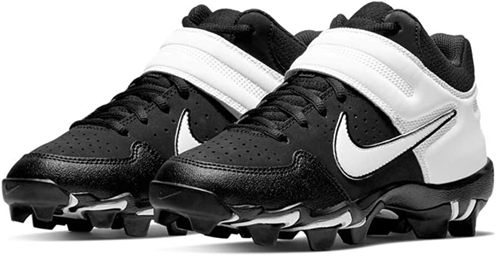 Nike Alpha Huarache VRS Md Kystn Bg Little Kids Baseball Softball Cleat Ao7582-400 Size
