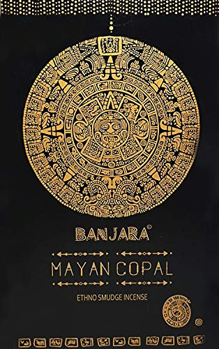 Incienso Banjara (Mayan Copal 12 Packs de 15 gr)