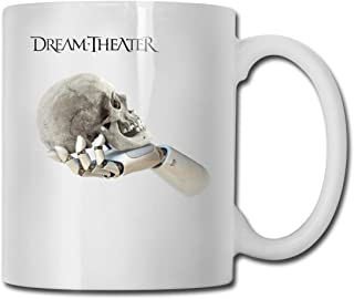 SHJZIO Dream Theater Funny Coffee Mug You're Awesome Unique Ceramic Novelty Holiday Christmas Hanukkah Gift for Men & Women Who Love Tea Mugs & Coffee Cups