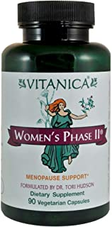 Vitanica Women's Phase II Menopause Support Vegan 90 Capsules