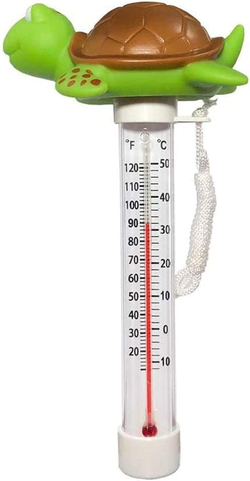 Floating Pool Thermometer Hot Tubs Aquariums Bath Water Flame Bird Water Temperature Thermometer With Large Size Display /& String For Swimming Pool Spas