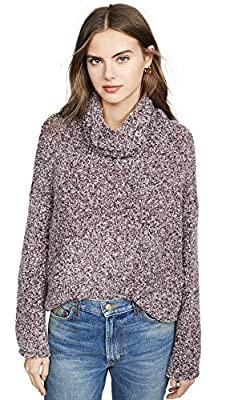 Free People Women's BFF Sweater, Bittersweet, Red, Small from Free People