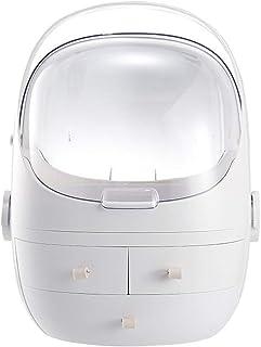 Nvshiyk Maquillage des boîtes de Rangement Grande Capsule d'espace Cosmétique Boîte de Rangement Type de tiroir Transparen...