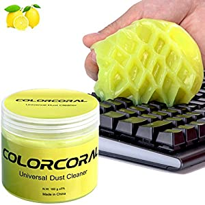 Cleaning Gel Universal Dust Cleaner for PC Keyboard Cleaning Car Detailing Laptop Dusting Home and Office Electronics…