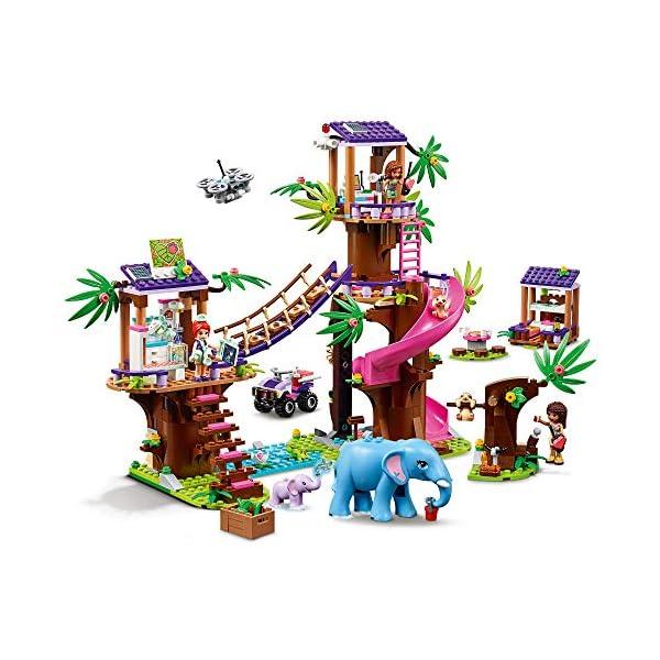 LEGO Pulse Theme Friends Base de Rescate en la Jungla Set con Clínica Veterinaria de Animales en la Casa del Árbol…