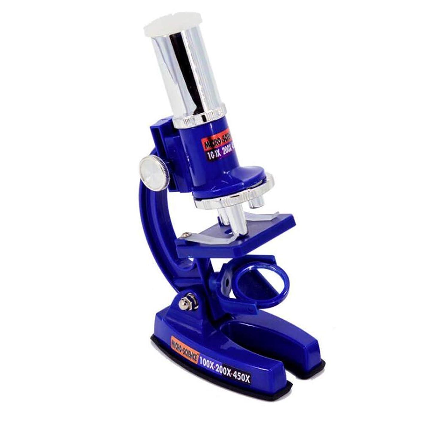 アシスタント真剣に欠陥子供の実験学習のための子供、専門の学生の生物光学のためのHdの耐久の顕微鏡