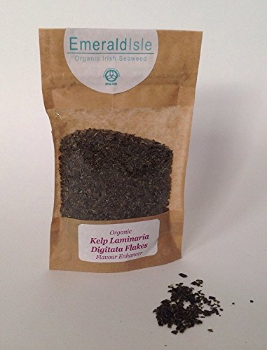 Emerald Isle Algas orgánicas escamas gránulos hierbas, Dulse, Alga dulce, Kombu, Espagueti...