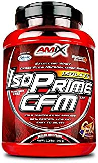 Amix Iso Prime Cfm Isolate Proteína de Suero Lácteo sin Lactosa, Sabor Vainilla - 1000