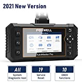 FOXWELL NT644 Elite OBD2 Scanner, All Systems Diagnostic Scanner with 19 Maintenance Reset, Scan Tool for ABS Bleeding SRS Car Diagnostic Tool with Oil Light Reset and EPB Reset Service