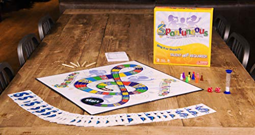 Spontuneous - The Song Game - Sing It or Shout It - Talent NOT Required (Family / Party Board Game)
