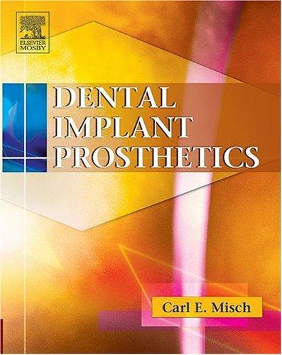 Dental Implant Prosthetics (Churchill Livingstone)