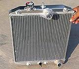 Radiador de aluminio de 3 filas de 32 mm para Civic CRX Del Sol EK4/EK9, EG6/EG9, EM1 EK EG B16 B18 SI VTEC 1992-2000 Integra