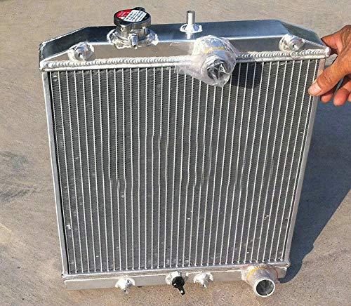 Radiador de aluminio del tubo de 3 FILA 32MM para Civic CRX Del Sol EK4/EK9, EG6/EG9, EM1 EK EG B16 B18 SI VTEC 1992-2000 Integra