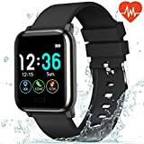 L8star Fitness Tracker Heart Rate Monitor-1.3'' Large Color Screen IP67 Waterproof Activity Tracker