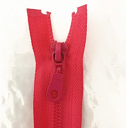 20PCS 5 Number Topics on Don't miss the campaign TV 25-70cm Detachable Lock Zipper Plas Opening Resin