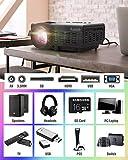 Zoom IMG-1 asnish proiettore mini videoproiettore portatile