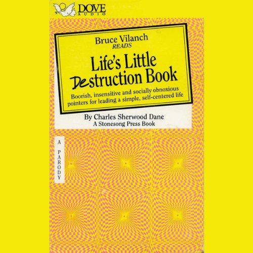 Life's Little Destruction Book audiobook cover art