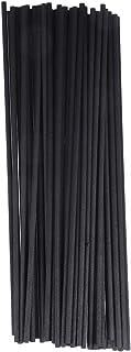 HEALIFTY 50 stuks Reed Diffuser Sticks Natuurlijke geur Reed Sticks Aromaolie Diffuser Rotan Sticks (zwart)