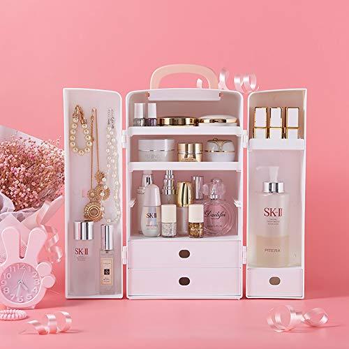 Make-up Organisator Stofdichte laden Display Stand Box Grote Capaciteit Neatness Cosmetische Organisatoren Opslag Plank Tassen voor Dressoir Slaapkamer Badkamer