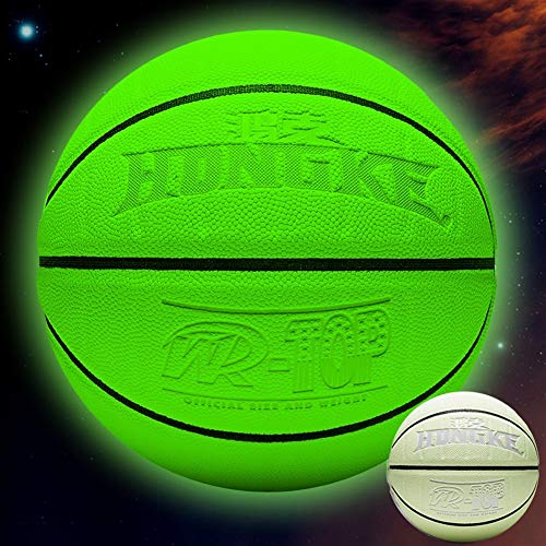 Buy YZPXDD Holographic Glowing Reflective Basketball Mens Official NBA Size 29.5 Size 6 Womens WNBA ...