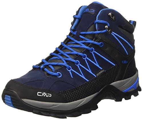 CMP Rigel Mid WP Herren Trekking- & Wanderstiefel, Blau (Black Blue N950), 46 EU