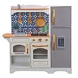 KidKraft Mosaic Magnetic Spielküche - Kinderküche aus Holz - Küche für Kinder