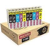 Matsuro Original | Kompatibel Tintenpatronen Ersatz für EPSON T1285 T1281 T1282 T1283 T1284 (2 Sets + 2 BK)