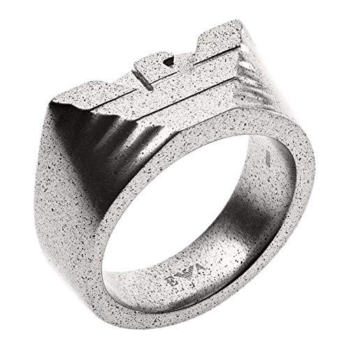 Emporio Armani Herren-Ringe Edelstahl mit '- Ringgröße 59 EGS2668040-9