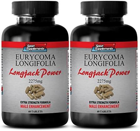 Longjack Root Longjack Power Eurycoma Longifolia 2275mg Promotes Muscle Growth 2 Bottles 120 product image