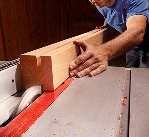 Table Saw Blade in Action