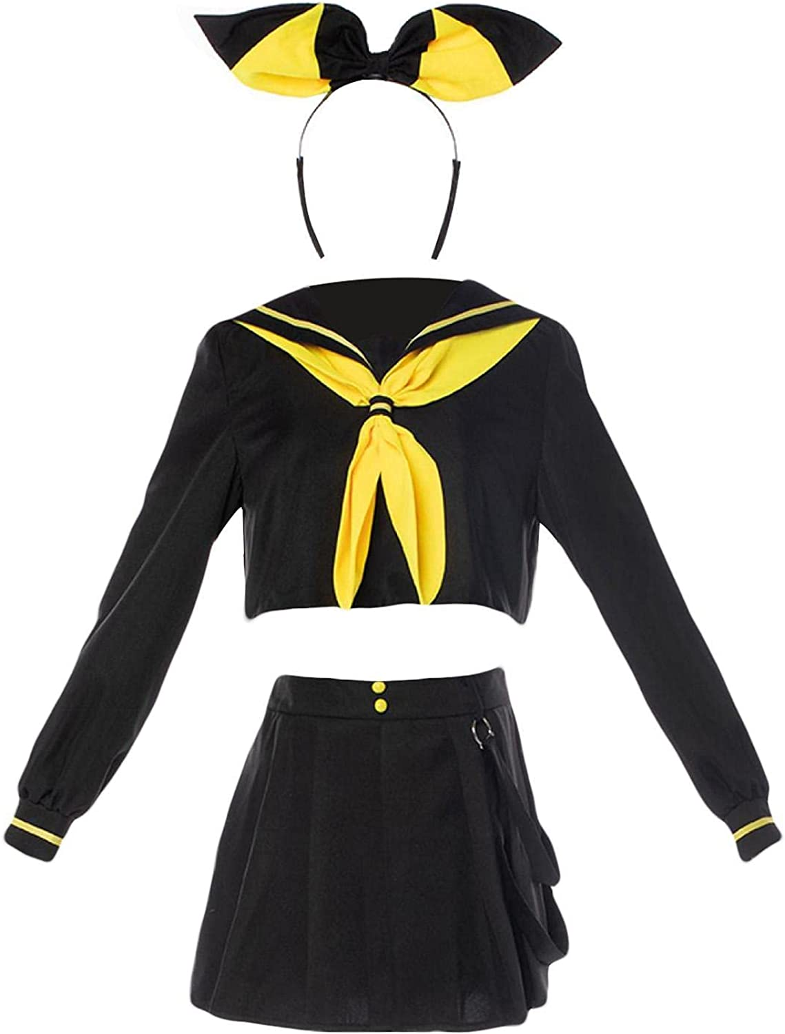 Halloween Cosplay Costume for Anime Rin Ri Kagamine Len Outlet ☆ Max 75% OFF Free Shipping