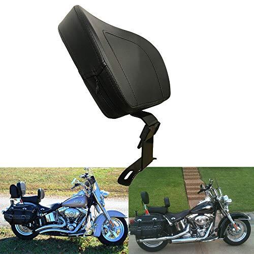Adjustable Motorcycle Driver Rider Seat Backrest Kit For Harley 1988-2018 BE
