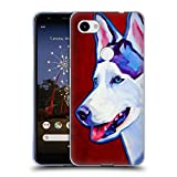 Head Case Designs Officiel DawgArt Sibérien Enroué Chiens Coque en Gel Doux Compatible avec Google Pixel 3a XL