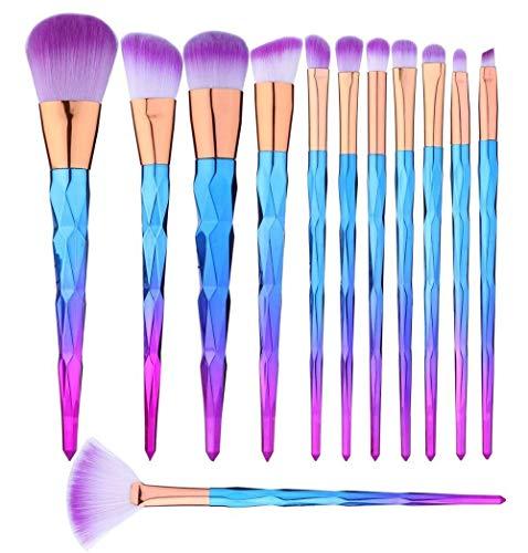Pinceaux de maquillage set de 12 Pièces
