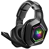 DIZA100 Gaming Headset für PS4 PC Xbox One, 3.5mm Surround Sound Kabelgebundenes ONIKUMA Gaming...