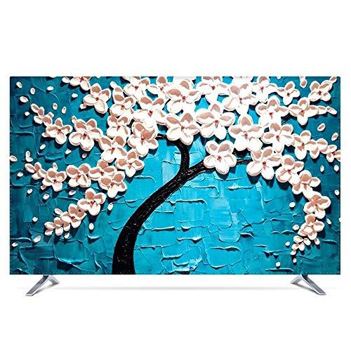 LICCC Paresseuse Swing Pare-poussière TV Dust Cover Multi-Taille Ensembles TV Hanging poussière Tissu (Color : C, Size : 28\
