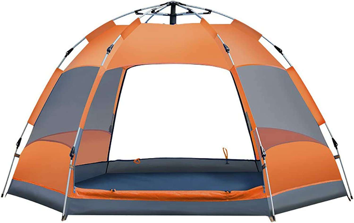 Camping Tent, 34 Person Outdoor Backpacking Light Weight Family Dome Tent Pop Up Instant Portable Compact Shelter Easy Set Up,for Family,Hiking
