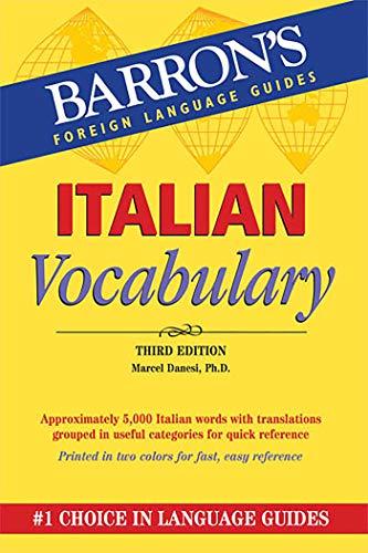 Italian Vocabulary (Barron's Vocabulary)