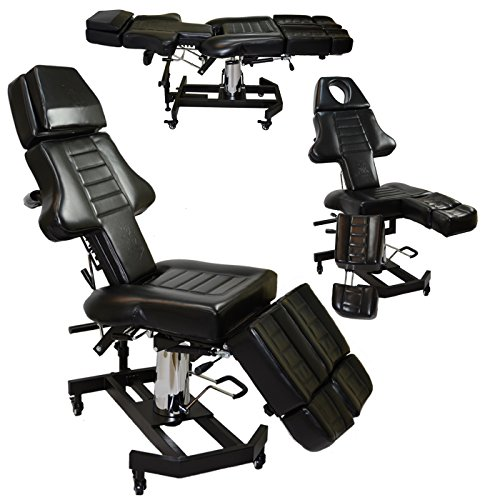 New Patented InkBed Hydraulic Client Tattoo Massage Bed Chair Table Ink Bed Studio Salon Equipment