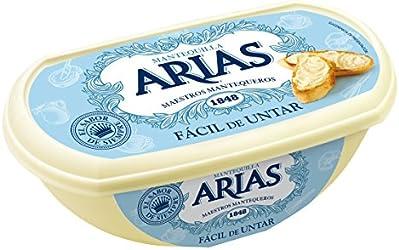Arias Mantequilla Tradicional Fácil de Untar, 235g (Refrigerada)