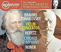 Brahms / Tchaikovsky, Violin Concertos: Heifetz, Chicago Symphony, Reiner (1993-03-09)