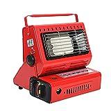 Eteslot Calentador Buddy, calefacción de Gas de Pizarra de cerámica, calefacción de Gas portátil de Doble Uso para Acampar y Pescar, cocinar y Calentar Tiendas de campaña