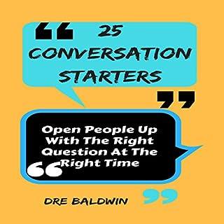 25 Conversation Starters audiobook cover art