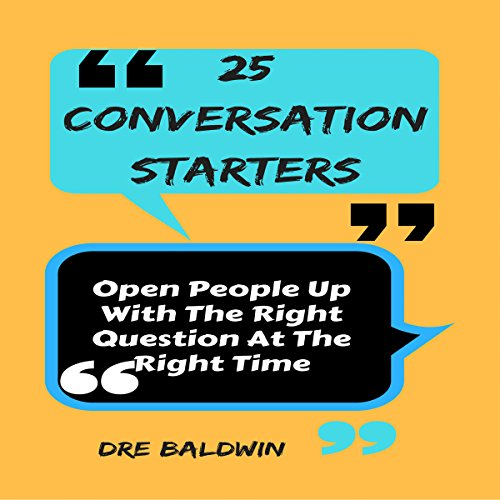 25 Conversation Starters audiobook cover art