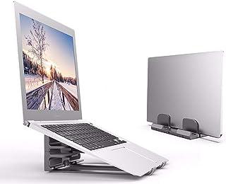 Soportes Laptop Stand De Escritorio Aumento Notebook Disipador De Calor De Aluminio De Aleación Ordenador Vertical De Alma...
