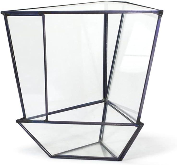 Jgrace Indefinitely Triangular Dealing full price reduction Geometric Terrarium Box Flower Mod Planter Pot